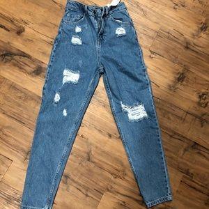 Boohoo High waisted denim jeans